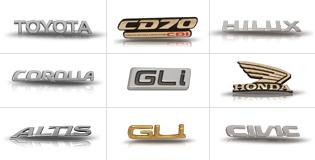 OEM Car Emblems